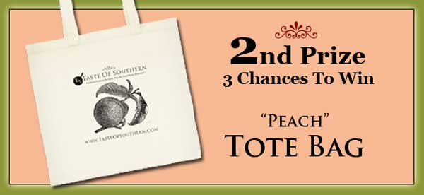 3 winners will receive a tote bag.