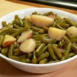 Green Beans and Potatoes recipe, as seen on Taste of Southern.com.