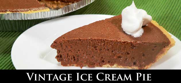 Vintage Ice Cream Pie Recipe