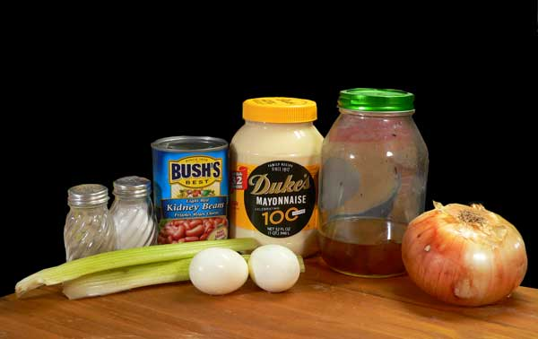 Kidney Bean Salad, you'll need these ingredients.