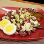 Old Fashioned Kidney Bean Salad Recipe, as seen on Taste of Southern.com.