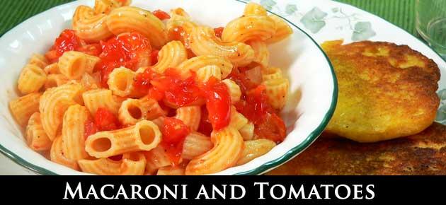 Macaroni and Tomatoes, slider.