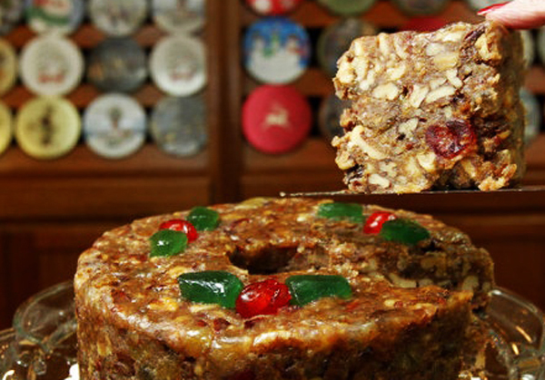 Southern Supreme Nutty Fruitcake Giveaway on Taste of Southern.com.