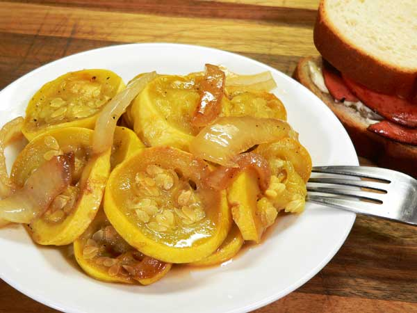 Squash and Onions Recipe, as seen on Taste of Southern.com
