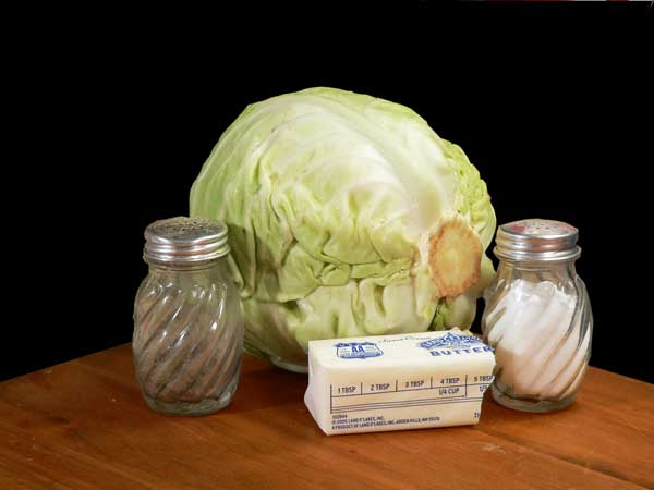 Fried Cabbage, you'll need these ingredients.