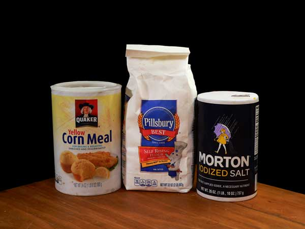 Hot Water Cornbread, you'll need these ingredients.