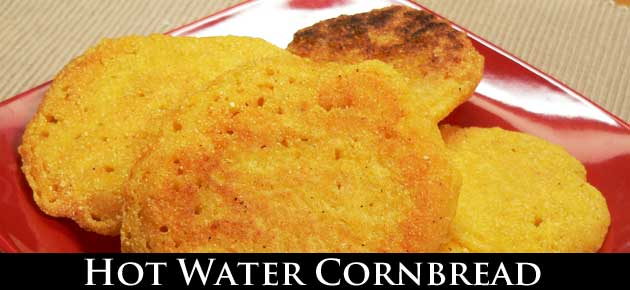 Hot Water Cornbread, slider.