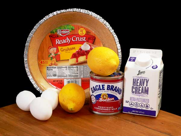 Lemon Cream Pie, you'll need these ingredients.
