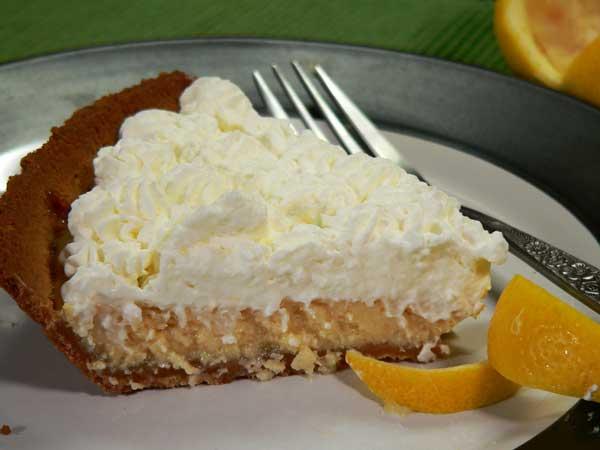 Lemon Cream Pie, as seen on Taste of Southern.com.