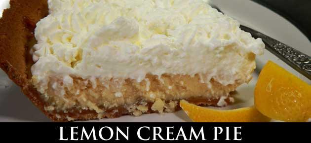 Lemon Cream Pie, slider.