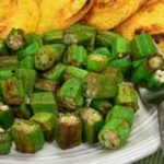 Pan Fried Okra, without breading. As seen on Taste of Southern.com.
