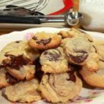 Salted Chocolate Chip Cookies recipe, as seen on Taste of Southern.com. Sponsored by OXO Good Grips.