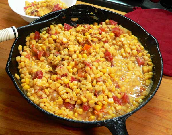 Corn Maque Choux, enjoy.
