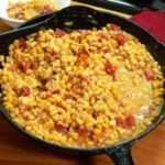 Corn Maque Choux recipe, as seen on Taste of Southern.com.