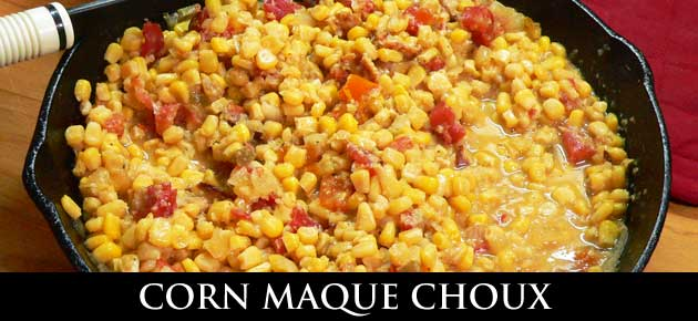Corn Maque Choux, slider.