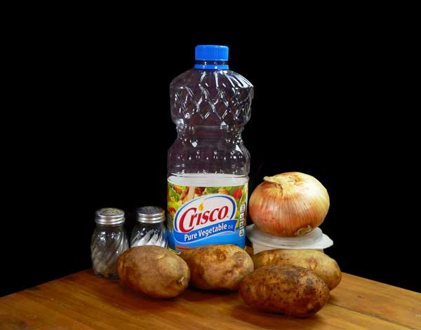 Southern Fried Potatoes, you'll need these ingredients.