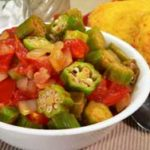 Okra and Tomatoes recipe.