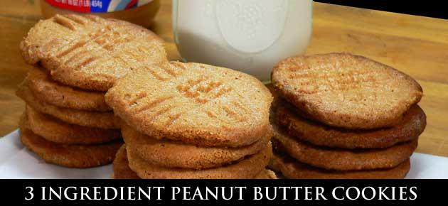 Peanut Butter Cookies, slider.