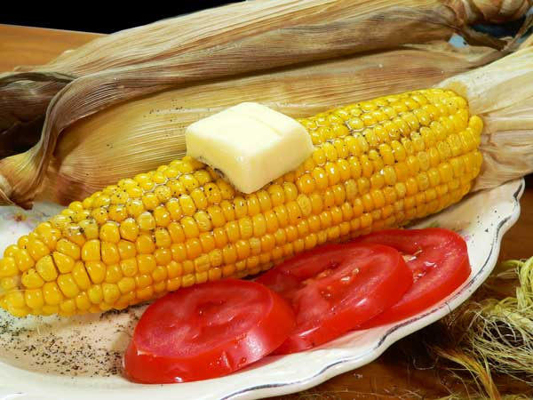 Roast Corn, enjoy.