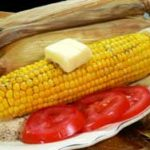 Easy Roast Corn in the Oven, and in the husk recipe. As seen on Taste of Southern.com.