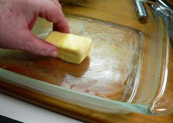 Veg-All Casserole, butter your casserole dish.