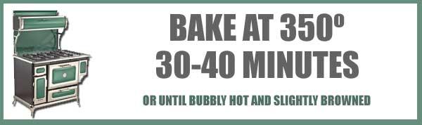 Veg-All Casserole, baking time and temp.