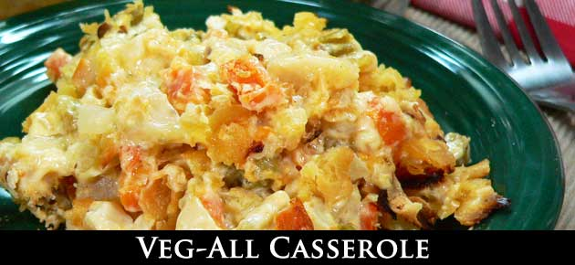 Veg-All Casserole, slider.
