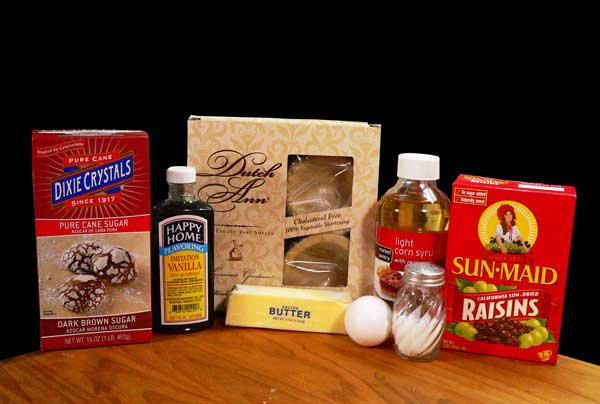 Butter Tarts, you'll need these ingredients.