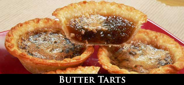 Butter Tarts, slider.