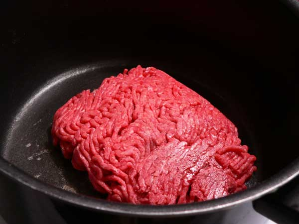 Macaroni and Beef, add the ground beef.