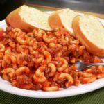 macaroni and beef recipe.