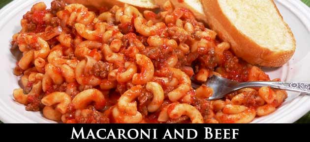 Macaroni and Beef, slider.