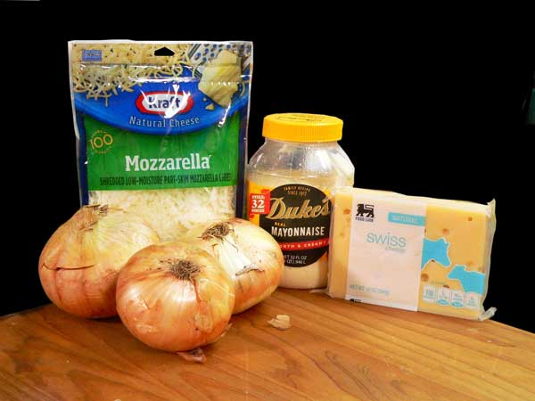 Onion Casserole, you'll need these ingredients.