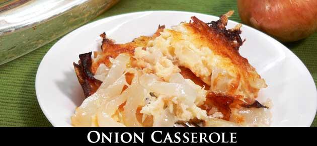 Onion Casserole, slider.