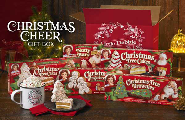 Little Debbie Christmas Gift Box