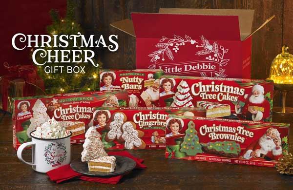 Little Debbie Christmas Gift Box Giveaway