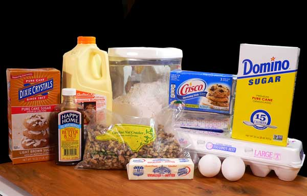 Black Walnut Cake, you'll need these ingredients for the cake.