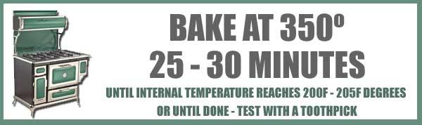 Black Walnut Cake, baking time and temp.