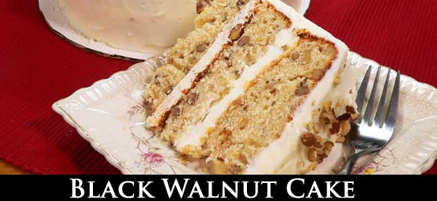 Black Walnut Cake, slider.