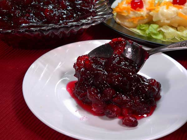 Cranberry Sauce, enjoy.