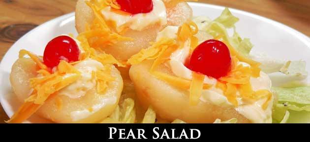 Pear Salad, slider.