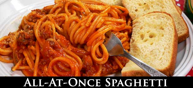 All at Once Spaghetti, slider.