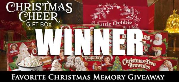 Winner-Little Debbie Taste of Southern Giveaway