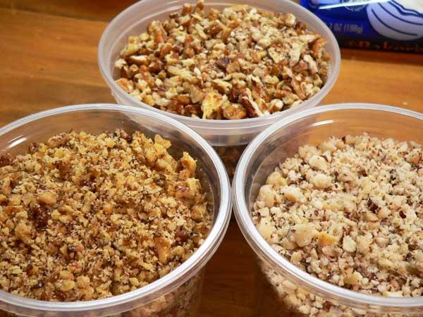 Icebox Fruitcake, get them all ready.