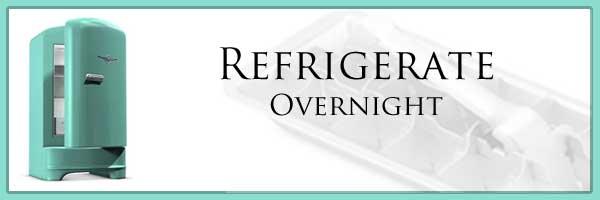 Icebox Fruitcake, refrigerate overnight.