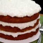 Sour Cream Coconut Cake recipe, enjoy.