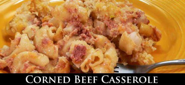 Corned Beef Casserole, slider.