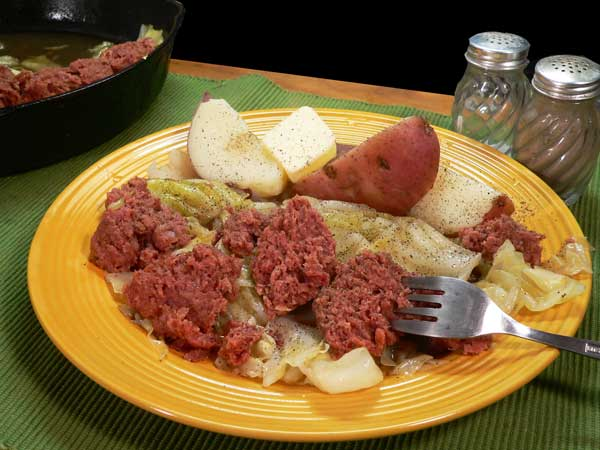 Corned Beef and Cabbage, enjoy.