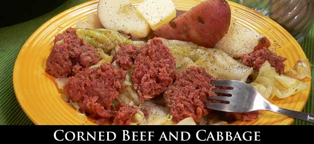 Corned Beef and Cabbage, slider.
