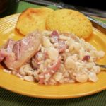 Lima Beans with Ham Hocks and Rice Recipe